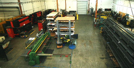 ADF Shop Fabrication Work Cell
